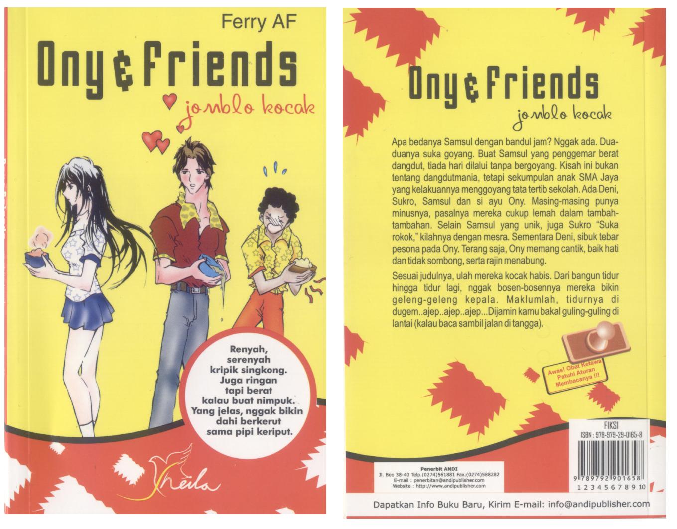 Ony Friends Jomblo Kocak Semuanya Tentang Buku